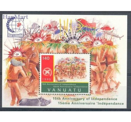 Vanuatu 1995 Mi bl 24 Czyste **