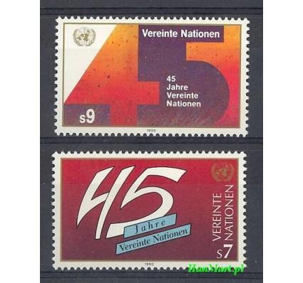 Narody Zjednoczone Wiedeń 1990 Mi 104-105 Czyste **
