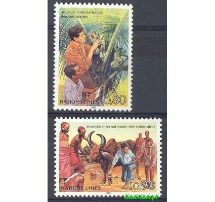 Narody Zjednoczone Genewa 1988 Mi 167-168 Czyste **