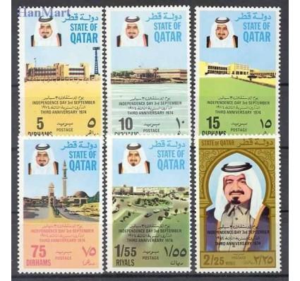 Znaczek Katar 1974 Mi 606-611 Czyste **