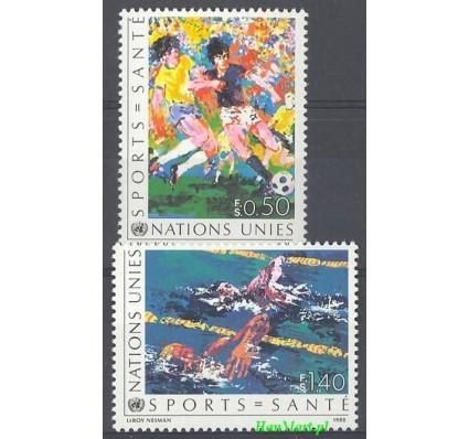 Znaczek Narody Zjednoczone Genewa 1988 Mi 169-170 Czyste **