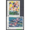 Narody Zjednoczone Genewa 1988 Mi 169-170 Czyste **