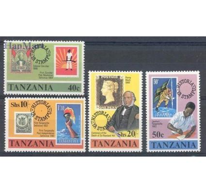 Znaczek Tanzania 1980 Mi 141-144 Czyste **