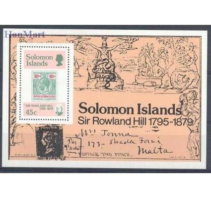 Wyspy Salomona 1979 Mi bl 6 Czyste **