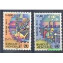 Narody Zjednoczone Genewa 1989 Mi 173-174 Czyste **