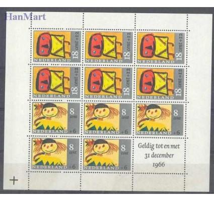 Holandia 1965 Mi bl 3 Czyste **