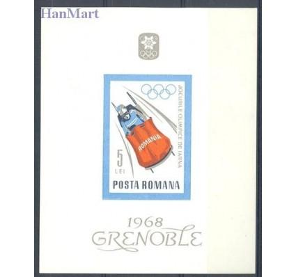 Znaczek Rumunia 1967 Mi bl 64 Czyste **