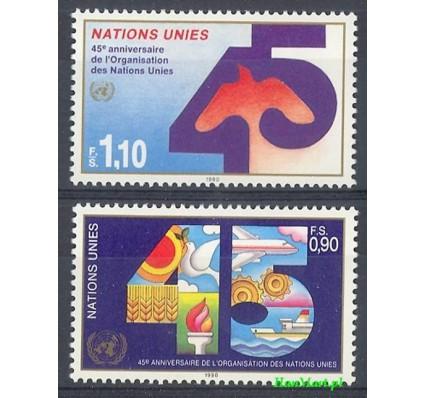 Narody Zjednoczone Genewa 1990 Mi 188-189 Czyste **