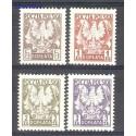 Polska 1980 Mi por 165-169 Fi por 148-151 Czyste **