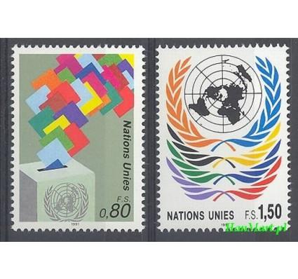 Narody Zjednoczone Genewa 1991 Mi 200-201 Czyste **