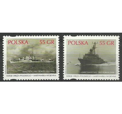Polska 1999 Mi 3742-3743 Fi 3594-3595 Czyste **