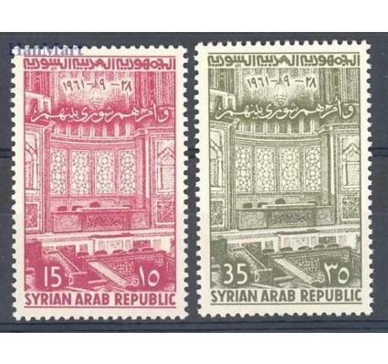 Znaczek Syria 1961 Mi 770-771 Czyste **