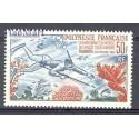 Polinezja Francuska 1965 Mi 48 Czyste **