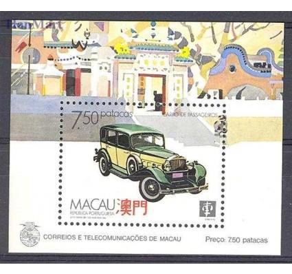 Znaczek Makau 1988 Mi bl 8 Czyste **