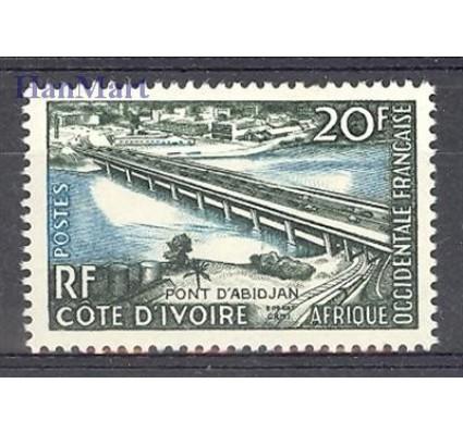 Znaczek Wybrzeże Kości Słoniowej 1959 Mi 208 Czyste **