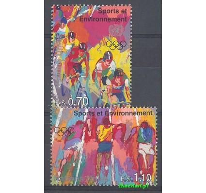 Narody Zjednoczone Genewa 1992 Mi 297-298 Czyste **