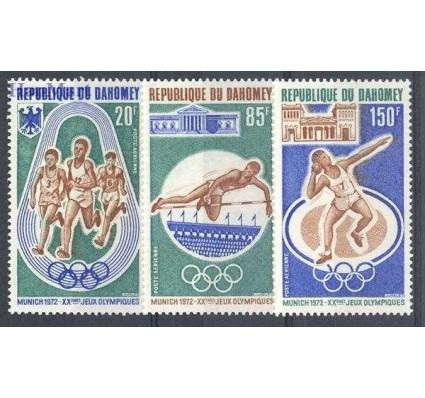 Znaczek Dahomej 1972 Mi 484-486 Czyste **