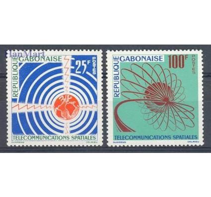 Znaczek Gabon 1963 Mi 185-186 Czyste **