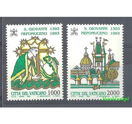 Watykan 1993 Mi 1097-1098 Czyste **