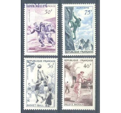 Znaczek Francja 1956 Mi 1100-1103 Czyste **