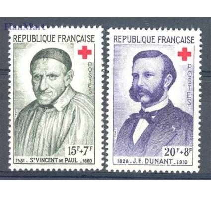 Znaczek Francja 1958 Mi 1224-1225 Czyste **