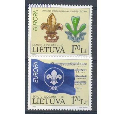 Znaczek Litwa 2007 Mi 933-934 Czyste **