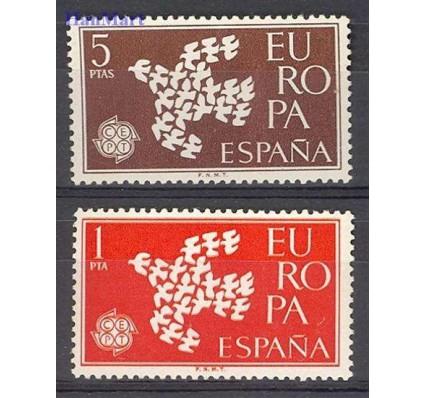 Znaczek Hiszpania 1961 Mi 1266-1267 Czyste **