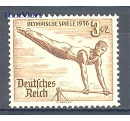 Znaczek Deutsches Reich / III Rzesza 1936 Mi 609 Czyste **