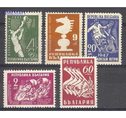 Bułgaria 1947 Mi 606-610 Czyste **