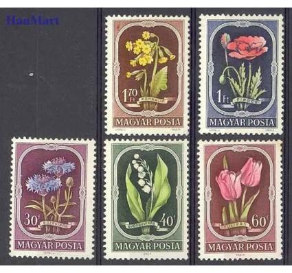 Znaczek Węgry 1951 Mi 1208-1212 Czyste **
