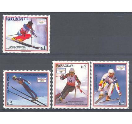 Paragwaj 1990 Mi 4471-4474 Czyste **