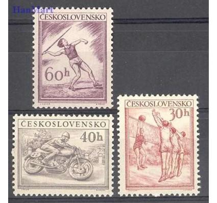 Znaczek Czechosłowacja 1953 Mi 823-825 Czyste **
