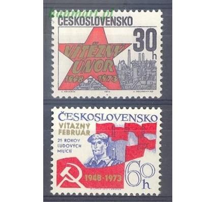Znaczek Czechosłowacja 1973 Mi 2124-2125 Czyste **