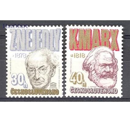 Znaczek Czechosłowacja 1978 Mi 2421-2422 Czyste **