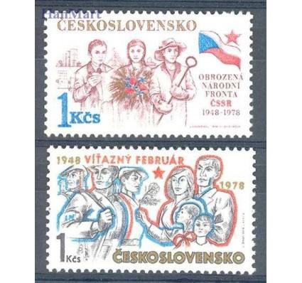 Znaczek Czechosłowacja 1978 Mi 2423-2424y Czyste **