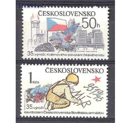 Znaczek Czechosłowacja 1980 Mi 2567-2568 Czyste **