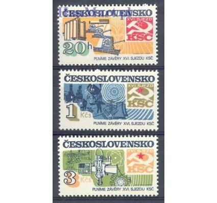 Znaczek Czechosłowacja 1982 Mi 2681-2683 Czyste **