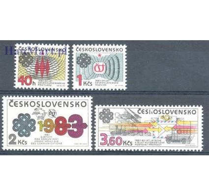 Znaczek Czechosłowacja 1983 Mi 2705-2708 Czyste **