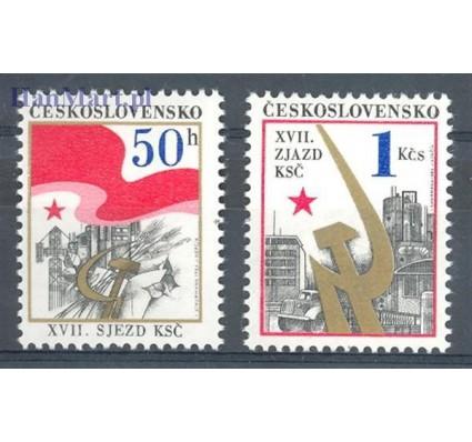 Znaczek Czechosłowacja 1986 Mi 2853-2854 Czyste **