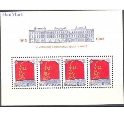 Czechosłowacja 1982 Mi bl 46 Czyste **