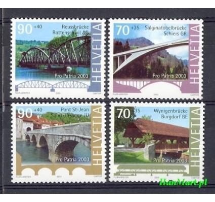 Szwajcaria 2003 Mi 1832-1835 Czyste **