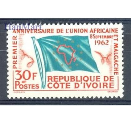 Znaczek Wybrzeże Kości Słoniowej 1962 Mi 243 Czyste **