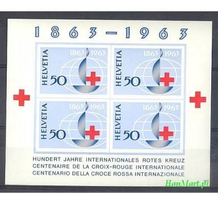 Znaczek Szwajcaria 1963 Mi bl 19 Czyste **