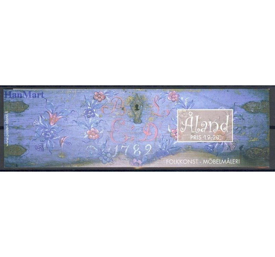 Wyspy Alandzkie 1999 Mi mh 7 Czyste **