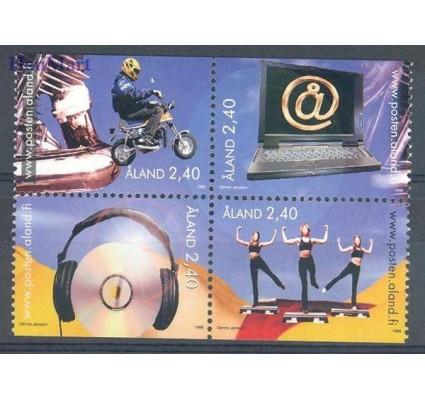 Znaczek Wyspy Alandzkie 1998 Mi 136-139 Czyste **