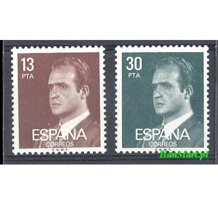 Hiszpania 1981 Mi 2489-2490x Czyste **
