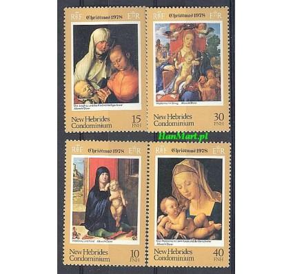 Znaczek Nowe Hebrydy 1978 Mi 519-522 Czyste **