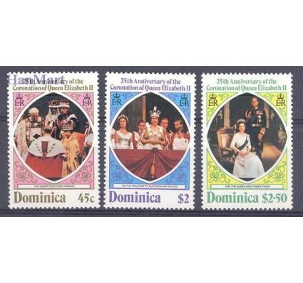 Dominika 1978 Mi 577-579 Czyste **
