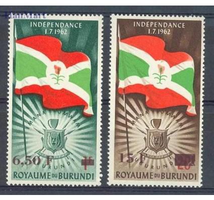 Znaczek Burundi 1963 Mi 57-58 Czyste **