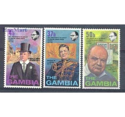 Znaczek Gambia 1974 Mi 297-299 Czyste **
